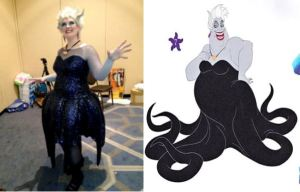"INSPIRATION IMAGE:  Ursula the Sea Witch from ""The Little Mermaid.""  Copyright Walt Disney Studios"