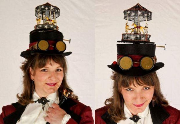 Carousel Ringmaster Top Hat