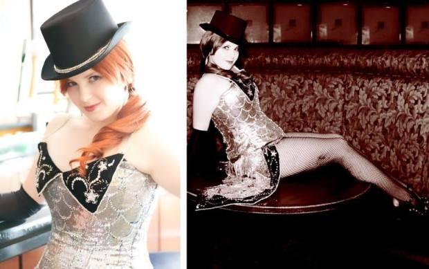 Patti's beautiful Moulin Rouge reproduction.