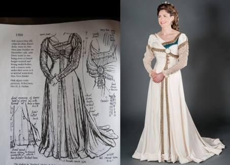 The 1908 Dress.