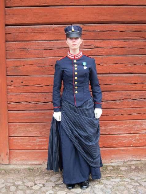 Sara's beautiful tailoring.