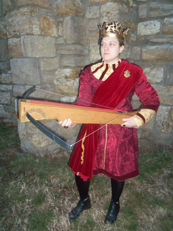 Bethany's Joffrey Baratheon, as modeled by a friend.