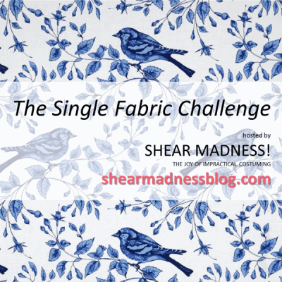 Shear Madness: The Single Fabric Challenge