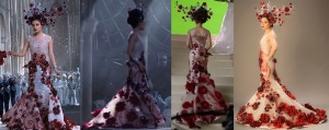 "The inspiration garment, from the movie ""Jupiter Ascending."""