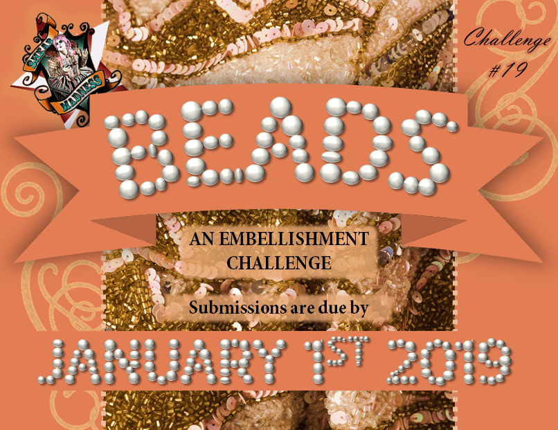 Beads Challenge 19 FB Announcement